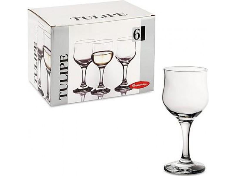 Набор бокалов для вина  Pasabahce Tulipe 200мл 6шт.
