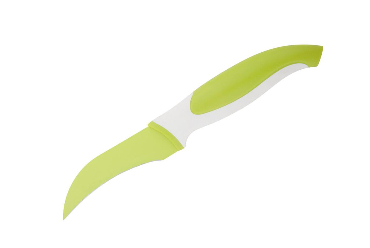 Нож для овощей изогнутый Granchio 88651 (8.9см)