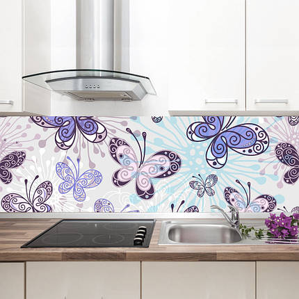 """Фартук на кухню / Скинали """"Бабочки"""", фото 2"""