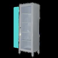 Шкаф медицинский ШМ-1 , шкаф медицинский стеклянная дверь