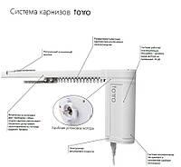 Электрокарниз Torro Польша 400 см усиленный до 90 кг