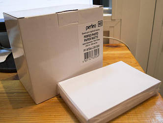 Фотобумага Perfeo матовая 10х15, 230 г/м2, упаковка 500 листов