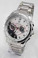 Мужские наручные часы (серебристый ремешок)