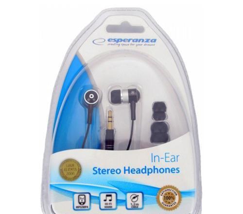 Навушники Esperanza EH128 Black