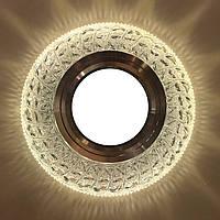 """Встраиваемый светильник Feron 7057 c LED подсветкой из коллекции """"Light house"""""""