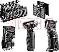 Обвес тактический CAA базовый для АК-47 (цевье с планкой Пикатини, крепление для фонаря, спарка магазинов, кор