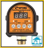 Автоматическое реле управления насосом OPTIMA EP-1 (с регулировкой давления)