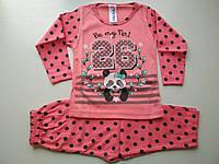Яркая пижама на девочку с пандочкой