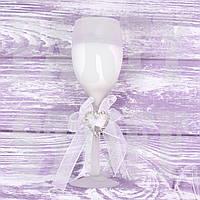 Свеча свадебная в бокале