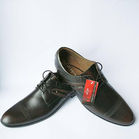 Lemar обувь Польша : классические мужские туфли, цвета кабир