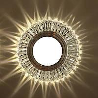 """Встраиваемый светильник Feron 7314 c LED подсветкой из коллекции """"Light house"""""""