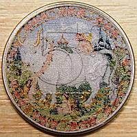 Сувенирная монета России 5 рублей 2016 г. Телец