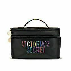 Victoria's Secret Набір дорожніх косметичок Rainbow Weekender Train Case 2шт