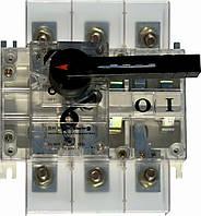 Выключатель-разъединитель нагрузки ВН в корпусе 3 полюса 160А 15kA 380B