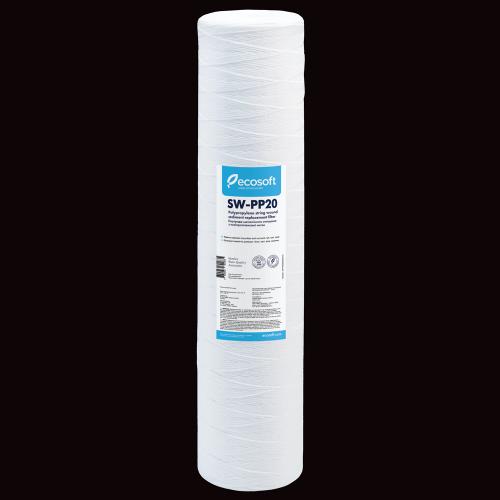 Картридж из полипропиленовой нити Ecosoft 4,5 x 20  20 мкм