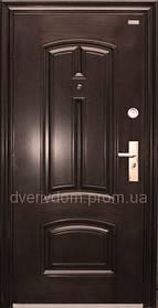 Уличные утепленные входные двери ААА 025 Китай