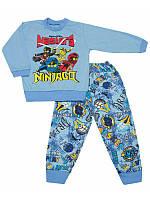 Пижама для мальчика тонкая мультяшные принты