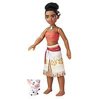 Плавающая кукла Моана Ваяна Disney Ocean Explorer Doll with Pua - Moana - уценка