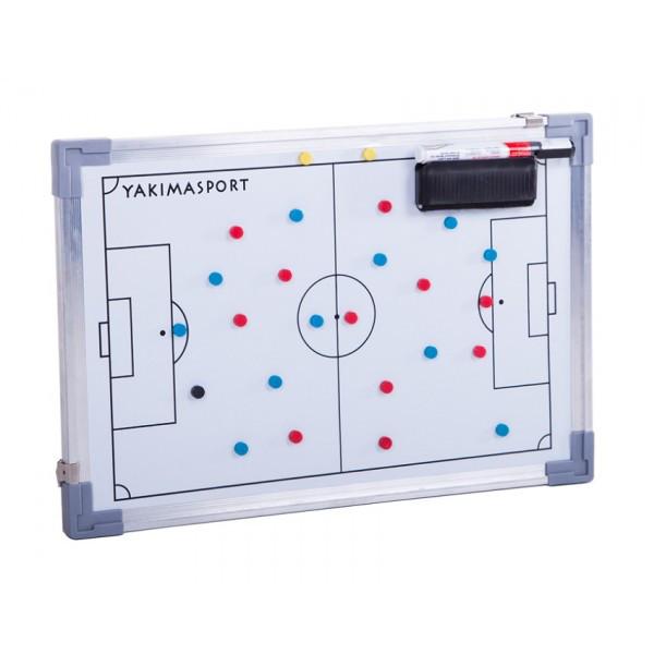 Доска футбольная тактическая с магнитами 30x45 см Yakimasport (100155)