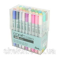 Набор маркеров Copic Ciao Set C, 36шт/уп