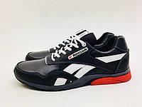 Мужские кроссовки Reebok черно-белые