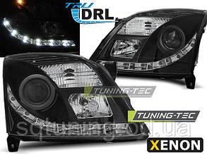 Фары OPEL VECTRA C 04.02-08.05 TRU DRL BLACK XENON D2S