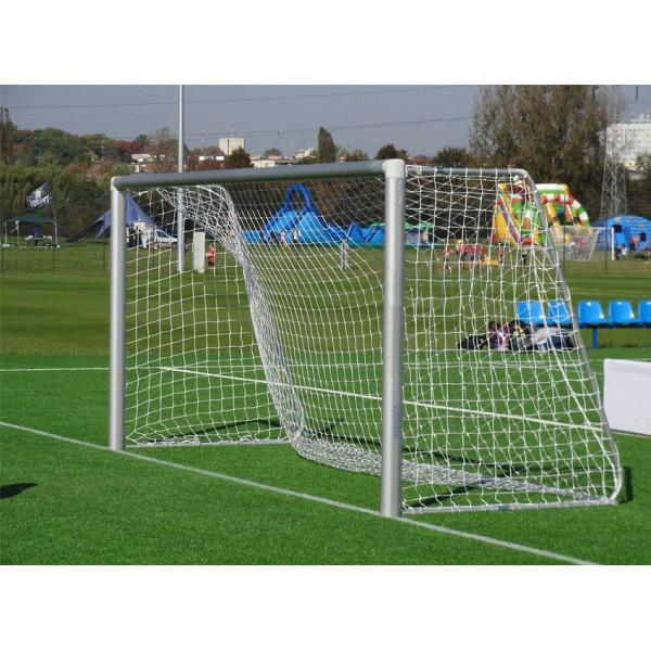 Сетка для футбольных ворот белая 5 X 2м, 2мм Yakimasport (100105)
