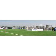 Сетка для футбольных ворот белая 5 X 2м, 2мм Yakimasport (100105), фото 2