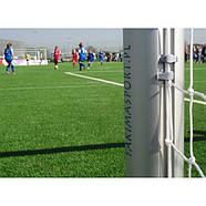 Сетка для футбольных ворот белая 5 X 2м, 2мм Yakimasport (100105), фото 5