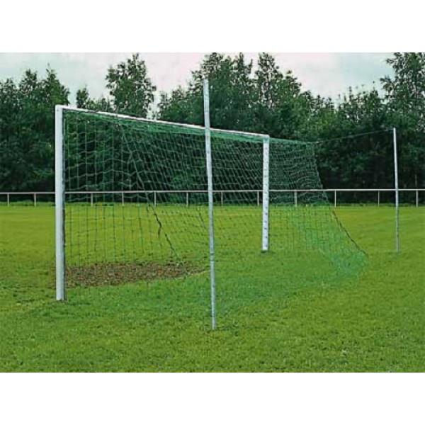 Сетка для футбольных ворот профессиональная зеленая 7,33 x 2,44м, 4мм Yakimasport (100112)