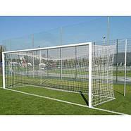 Сетка для футбольных ворот профессиональная зеленая 7,33 x 2,44м, 4мм Yakimasport (100112), фото 4