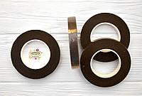 Флористическая тейп-лента, цвет коричневый, ширина 12 мм, длина 27 м, фото 1