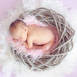Как сшить детскую постель с зимним принтом