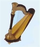 Мини музыкальный инструмент арфа MW-17