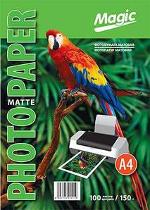 Фотобумага Magic A4 Inkjet Matte Paper 150g (100л)