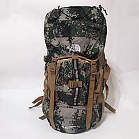 Походный армейский рюкзак The North Face 60 л камуфляжный армейский пиксельный