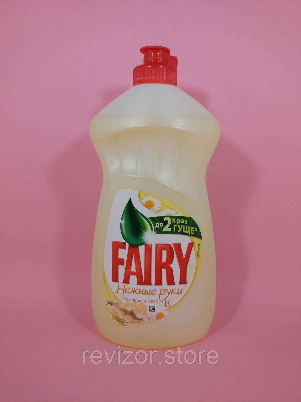 Fairy - Жидкое средство для мытья посуды Нежные руки Ромашка и Витамин Е 500мл