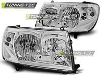 Фары TOYOTA LAND CRUISER FJ100 05-06 CHROME