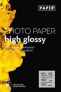 Фотобумага Papir (Magic) 10*15 Glossy 180g 100 л