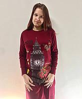 Женская туника  44-50, длинный рукав, Турция, bigben