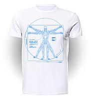 Футболка GeekLand Терминатор Terminator Vitruvian T-800 TM.01.003