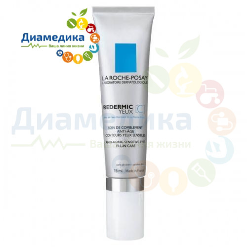 La Roche-Posay Redermic [C] Yeux (Anti-Ageing Sensitive Eyes Fill-in Care) 15ml Earth Science Naturals Intelligent 145 Skincare for Men Facial Lotion, 1 oz