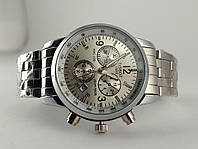 Часы мужские TISSOT - PRC200 кварцевые, циферблат и брастел серебристый