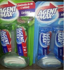 Средство для чистки унитаза AGENT MAX