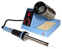 Паяльная станция ZD-99, 48W паяльник с регулировкой температуры и подставкой, ванной для припоя