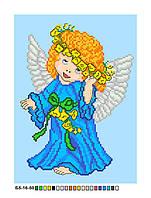 Картинка на канве А-5 Ангелочек