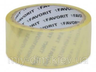 Скотч 48мм х 66м (прозорий) FAVORIT (10-581)