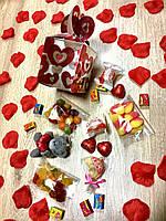 Набор сладости в бонбоньерке,    подарок к 8 марта