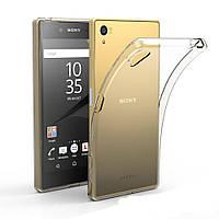 Прозрачный Slim чехол Sony Xperia XA F3111 / F3112 (0,3 мм)