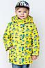 Модная куртка  для мальчика весна-осень Миньоны.